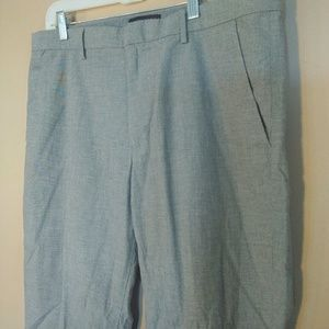 Banana Republic Men's 34x30 Gray Kentfield Pants